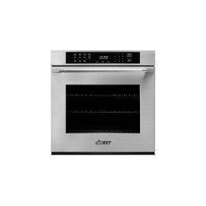 "DacorHeritage 27"" Single Wall Oven, Silver Stainless Steel with Epicure Style Handle"