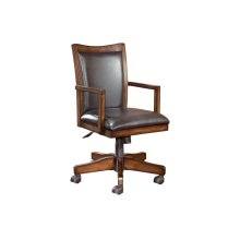 Home Office Swivel Desk Chair, Brown