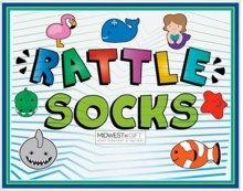 Rattle Socks Sign.