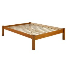 Montana Mahogany Twin Platform Bed w/ 2 Storage Drawers