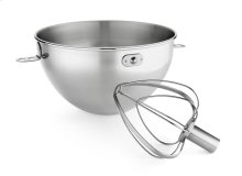 3-Qt. Stainless Steel Bowl & Combi-Whip