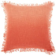 """Life Styles Md201 Coral 20"""" X 20"""" Throw Pillows"""