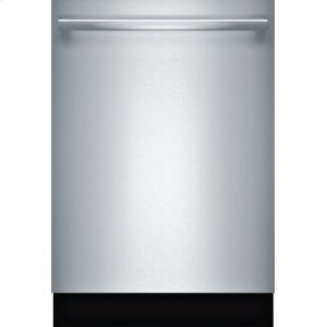 """BoschBenchmark(R) 24"""" Bar Handle Dishwasher Benchmark Series- Stainless steel SHX89PW55N"""