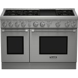 Thermador48-Inch Pro Harmony(R) Standard Depth Gas Range