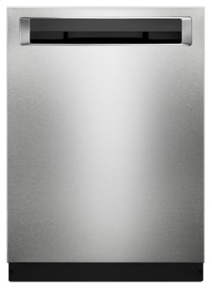 44 DBA Dishwashers with Clean Water Wash System and PrintShield Finish, Pocket Handle - PrintShield Stainless Product Image