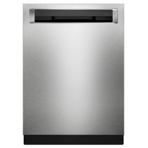 Kitchenaid44 DBA Dishwashers with Clean Water Wash System and PrintShield Finish, Pocket Handle - PrintShield Stainless