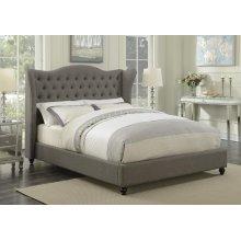 Newburgh Grey Upholstered King Bed