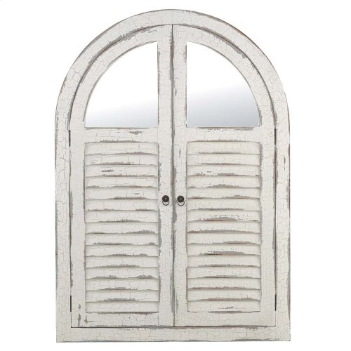 Shutter Mirror w/ Doors