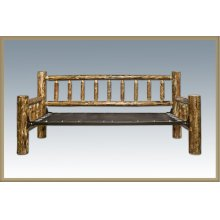 Glacier Country Log Day Bed