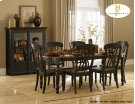 Dining Table Butterfly Leaf Table Solid Wood Table Top Product Image