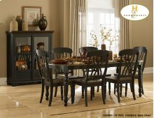 Dining Table Butterfly Leaf Table Solid Wood Table Top