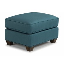 Pierce Fabric Ottoman