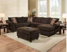 2800 - Dynasty Godiva 2-Piece Sectional