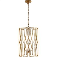 Visual Comfort NW5111VG Niermann Weeks Brittany 3 Light 18 inch Venetian Gold Foyer Lantern Ceiling Light, Niermann Weeks, Medium