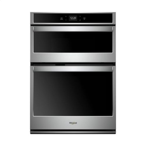 Whirlpool® 6.4 cu. ft. Smart Combination Wall Oven with Touchscreen - Stainless Steel