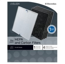 Oxygen Ultra Air Purifier 1 HEPA Filter and 4 Carbon Filters
