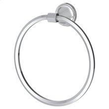 Fitzgerald Towel Ring - Polished Chrome