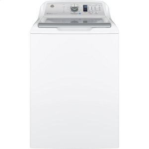 GE ®4.6 Cu. Ft. Capacity Washer With Stainless Steel Basket