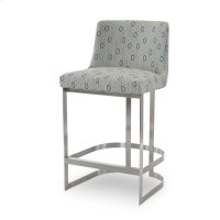 Copenhagen Stainless Bar Stool Product Image