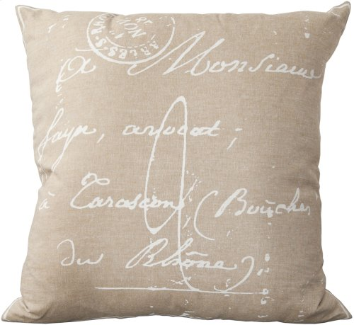 """Montpellier LG-511 18"""" x 18"""" Pillow Shell with Down Insert"""