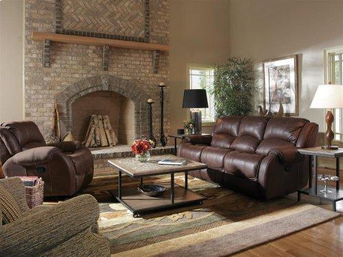 Pure Comfort Fabric Reclining Sofa