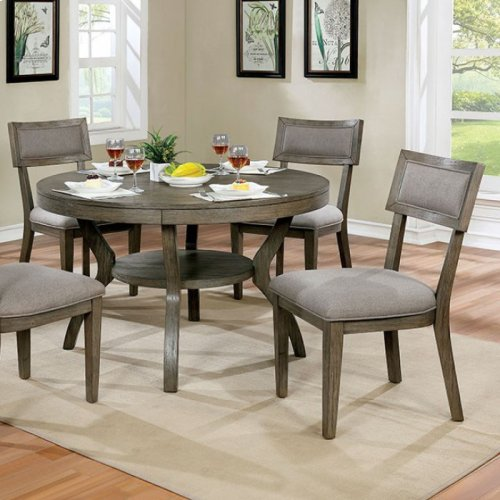 Round Table Watsonville Ca.Cm3387rt In By Furniture Of America In San Jose Ca Leeds Round