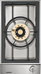 """Vario gas wok 200 series VG 231 214 CA Stainless steel control panel Width 11"""" Equipped for natural gas. Product Image"""