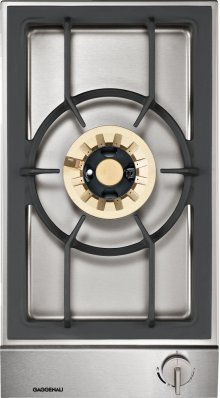 "Vario gas wok 200 series VG 231 214 CA Stainless steel control panel Width 11"" Equipped for natural gas."