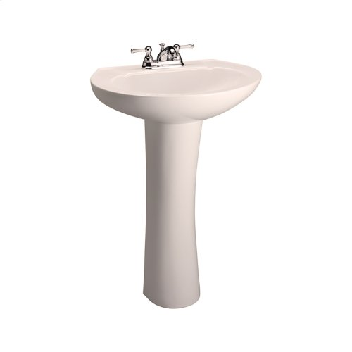 Hampshire 575 Pedestal Lavatory - Bisque