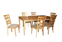 Solid Wood Ext. Leg Table