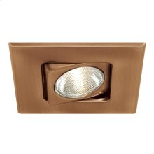 TRIM,4IN SQUARE GIMBAL - Antique Brass