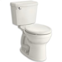 White Portsmouth Champion PRO Right Height Round Front 1.28 gpf Toilet