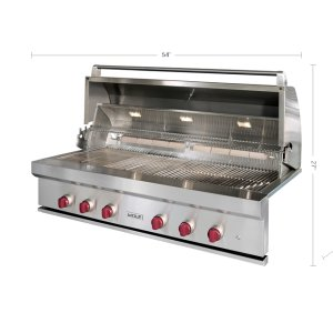 "Wolf 54"" Outdoor Gas Grill"