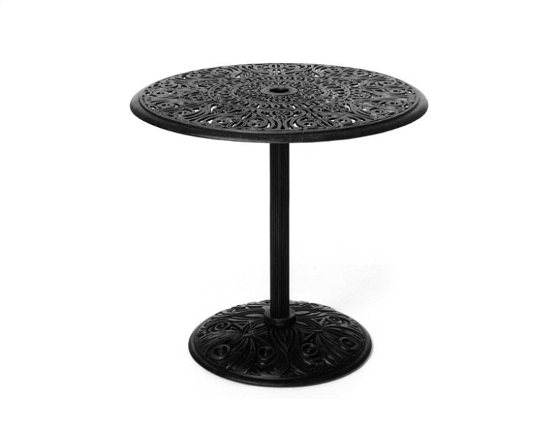 30 Round Umbrealla Side Table Available In 29 H 37 Counter Hidden