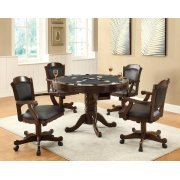Turk Casual Game Table and Arm Chair Set Product Image