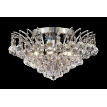 8031 Victoria Collection Flush Mount Chrome Finish