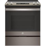 "GE® 30"" Slide-In Electric Range Product Image"