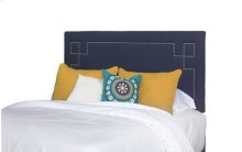 Queen Upholstered Headboard - Cobalt Blue Finish