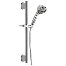 Chrome 7-Setting Slide Bar Hand Shower