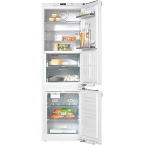 MieleKFNS 37692 iDE-1 - PerfectCool fridge-freezer For that special look in the kitchen thanks to Perfect fresh Pro and FlexiLight.