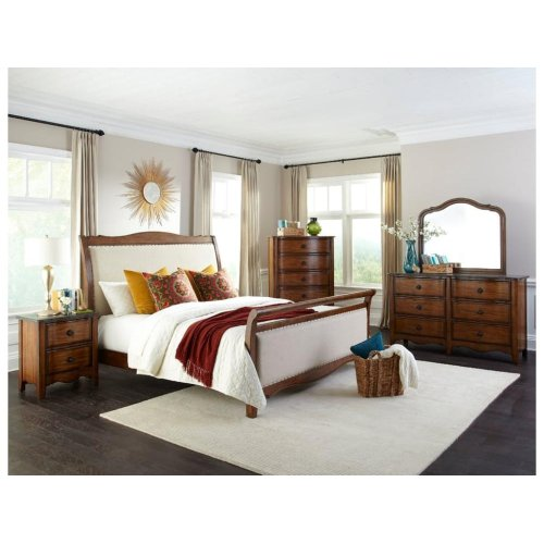 Luciano Queen Upholstered Bed Headboard
