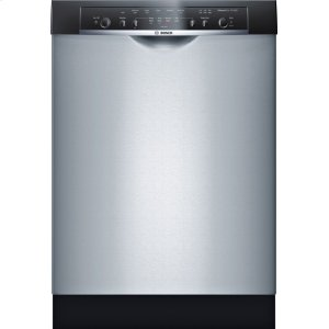 Bosch23 5/8 '' Recessed Handle Dishwasher Ascenta- Stainless steel SHE3AR55UC