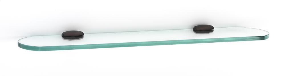 Royale Glass Shelf A6650-18 - Chocolate Bronze