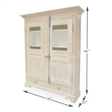 Metz Farmhouse Armoire