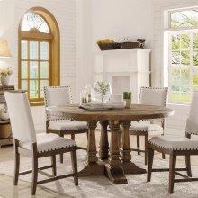 Hawthorne - Round Dining Table - Barnwood Finish