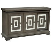 Marshall 3 Sliding Door and Mirror Distressed Media Console Product Image