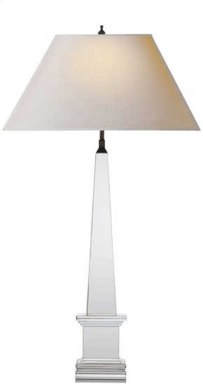 Visual Comfort AH3049CG-NP Alexa Hampton Vivien 28 inch 40 watt Crystal Decorative Table Lamp Portable Light
