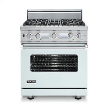 "30"" Custom Sealed Burner Dual Fuel Electronic Control Range, Natural Gas, No Brass Accent"
