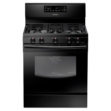 5.8 cu. ft. Freestanding Gas Range (Black)