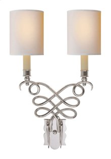 Visual Comfort SC2160PN-NP Eric Cohler Catherine 2 Light 13 inch Polished Nickel Decorative Wall Light